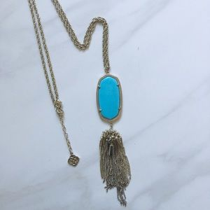 Kendra Scott Rayne Turquoise Necklace